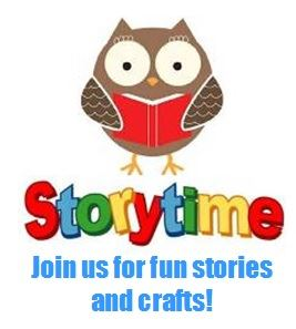 Join us on Tuesday's for Toddler Story Time